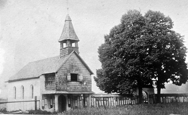 Friedhofskircherl Bodenmais um 1930