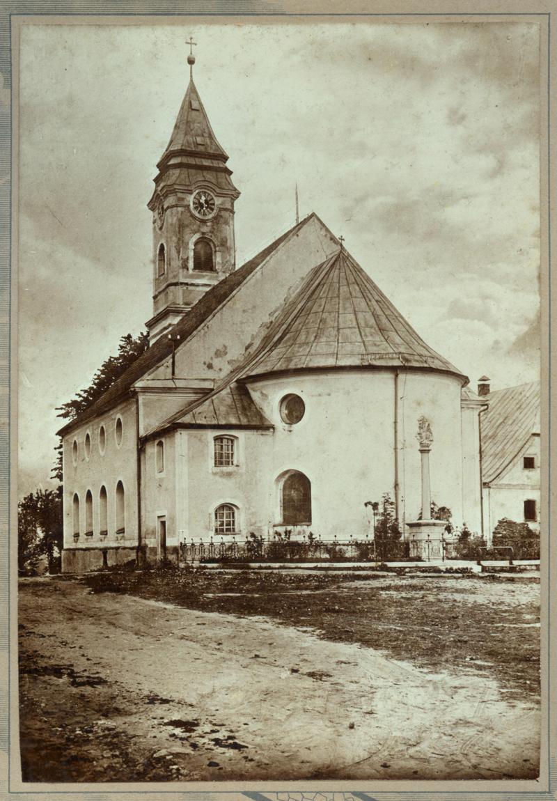 Pfarrkirche Bodenmais um 1900