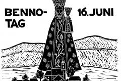 Plakat zum St. Bennofestjubiläum 1953