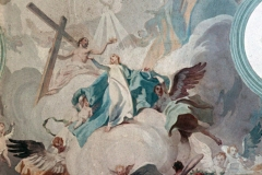 """Deckenfresko """"Mariä Himmelfahrt"""" von Josef Wittmann"""