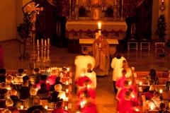 Osternacht in der Pfarrkirche